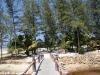 Malibu Beach Bungalow Foto vom Strand 03